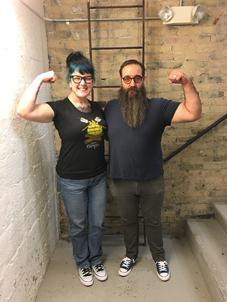 Karen and Beardy