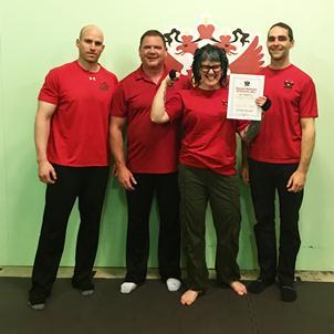 RKC Milwaukee 2017 Instructors and Karen