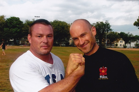 Coach Mills with Pavel after his RKC Cert.