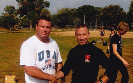 Coach Mills with his Team Leader-Master RKC Mark Reifkind