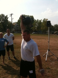 "Pressing the ""Beast"" at the RKC Cert."