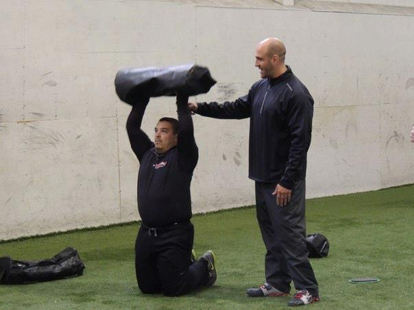 Senior RKC Josh Henkin Coaching Ultimate Sandbag Movements