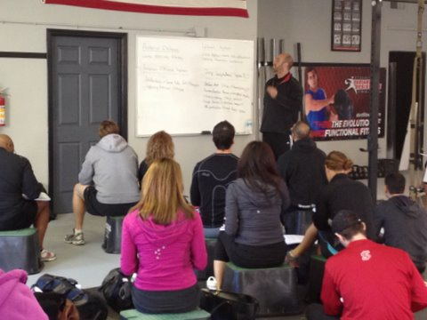 Senior RKC Josh Henkin Presenting Movement Concepts