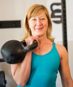 Lori Crock with Kettlebell small image