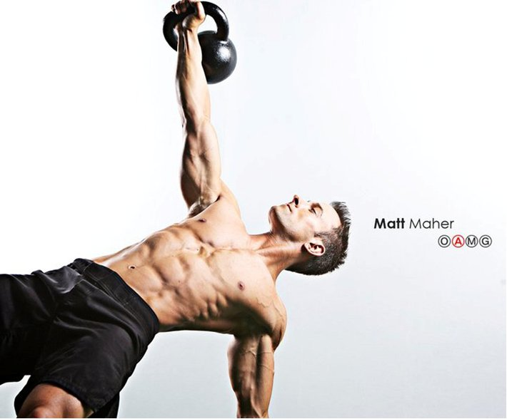 RKC Team Leader Matt Maher Performs a Get Up with a Kettlebell