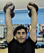 Mike Davidov Double Kettlebell Press thumbnail