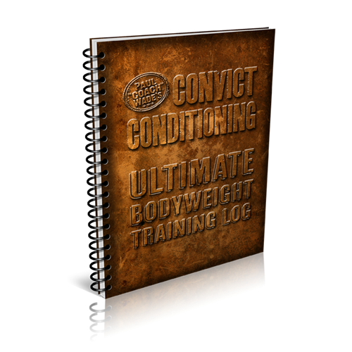 CC Ultimate Bodyweight Training Log Book