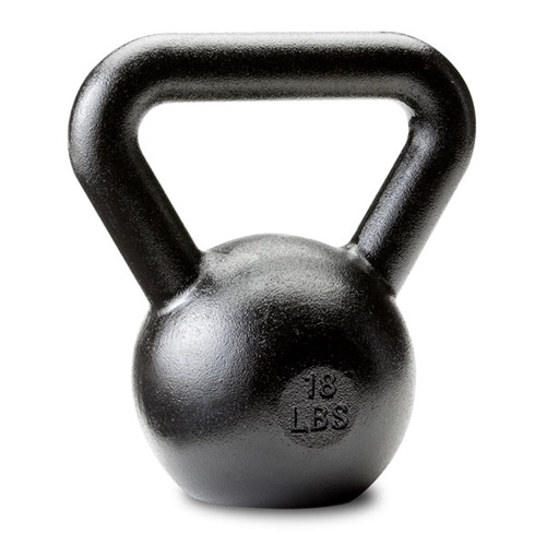 Dragon Door Russian Kettlebell 18lb Front P10m
