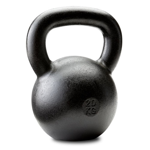 Dragon Door Russian Kettlebell 20kg 44lb Front P10h
