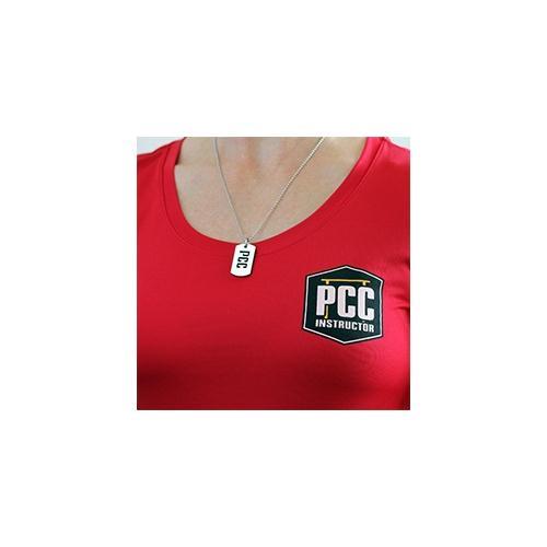 PCC Dog Tag, medium modeled