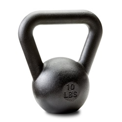 Dragon Door Russian Kettlebell 4kg 10lb Front P10n