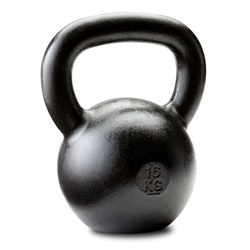 Dragon Door Russian Kettlebell 16kg 35lb  Narrower Handle Front P10s