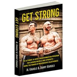Get Strong By Al Kavadlo And Danny Paperback Book Cover