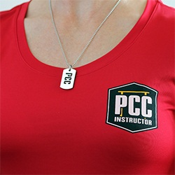 PCC Dog Tag, medium modeled