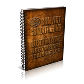 Convict Conditioning Ultimate Bodyweight Training Log (paperback)
