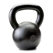 Dragon Door Russian Kettlebell 14kg 31lb Front P10u