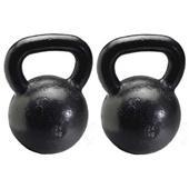 2 Russian Kettlebells - 24kg (53 lbs.)