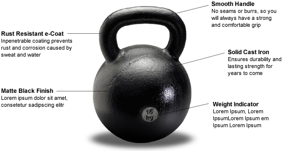 35lb 16kg russian kettlebell dragon door